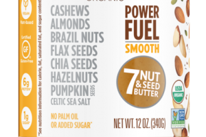 POWER FUEL SMOOTH 7 NUT & SEED BUTTER