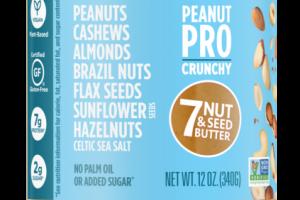 PEANUT PRO CRUNCHY 7 NUT & SEED BUTTER