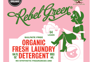 ORGANIC FRESH LAUNDRY DETERGENT, PINK LILAC