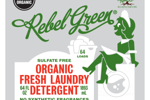 ORGANIC FRESH LAUNDRY DETERGENT, UNSCENTED & FRAGRANCE FREE