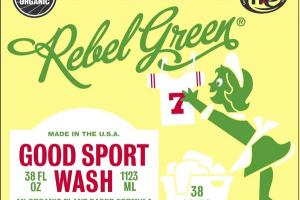GOOD SPORT WASH, PEPPERMINT & LEMON