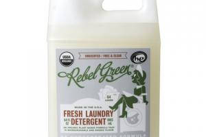 FRESH LAUNDRY DETERGENT, UNSCENTED / FREE & CLEAR