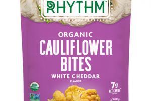 WHITE CHEDDAR ORGANIC CAULIFLOWER BITES
