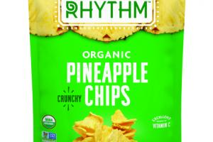 ORGANIC CRUNCHY PINEAPPLE CHIPS