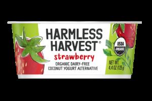 STRAWBERRY ORGANIC DAIRY-FREE COCONUT YOGURT