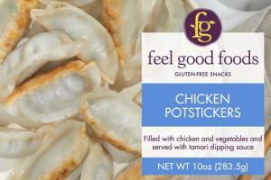 CHICKEN POTSTICKERS GLUTEN-FREE SNACKS