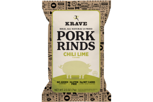 CHILI LIME FLAVORED PORK RINDS