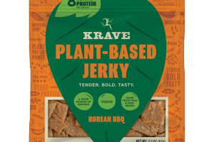KOREAN BBQ PLANT-BASED JERKY