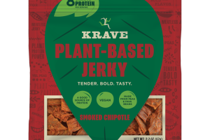 SMOKED CHIPOTLE PLANT-BASED JERKY