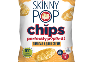 CHEDDAR & SOUR CREAM FLAVOR CHIPS