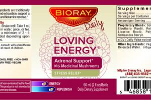 ADRENAL SUPPORT WITH MEDICINAL MUSHROOMS STRESS RELIEF DAILY DIETARY SUPPLEMENT