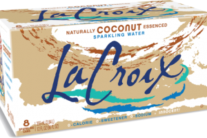 COCONUT NATURALLY ESSENCED SPARKLING WATER