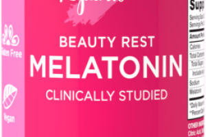BEAUTY REST MELATONIN CLINICALLY STUDIED DIETARY SUPPLEMENT GUMMIES NATURAL MIXED BERRY