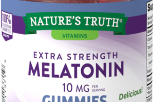 EXTRA STRENGTH MELATONIN 10 MG DIETARY SUPPLEMENT GUMMIES NATURAL BERRY