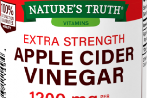 EXTRA STRENGTH 1200 MG DIETARY SUPPLEMENT VEGETARIAN CAPSULES APPLE CIDER VINEGAR