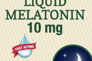 MAXIMUM STRENGTH LIQUID MELATONIN 10 MG DIETARY SUPPLEMENT NATURAL BERRY