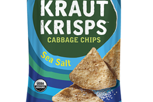 SEA SALT CRUNCHY KRAUT KRISPS CABBAGE CHIPS