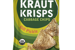DILL PICKLE CRUNCHY CABBAGE CHIPS