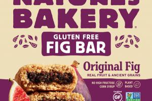 GLUTEN FREE ORIGINAL FIG BAR