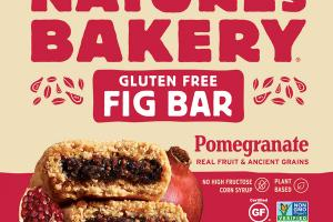 GLUTEN FREE POMEGRANATE FIG BAR