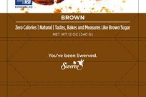 BROWN THE ULTIMATE SUGAR REPLACEMENT
