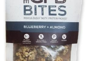 BLUEBERRY + ALMOND BITES