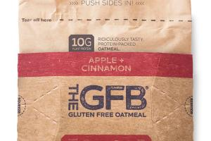 APPLE + CINNAMON GLUTEN FREE OATMEAL