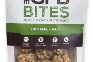 BANANA + NUT BITES