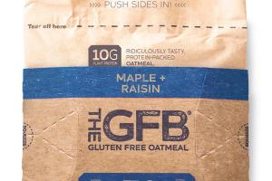 MAPLE + RAISIN GLUTEN FREE OATMEAL