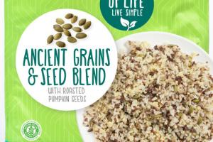 ANCIENT GRAINS & SEED BLEND WITH ROASTED PUMPKIN SEEDS
