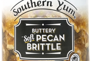 "BUTTERY OLD FASHIONED ""SOFT"" PECAN BRITTLE"