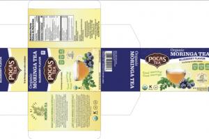 BLUEBERRY FLAVOR ORGANIC MORINGA TEA