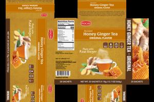 ORIGINAL FLAVOR INSTANT HONEY GINGER TEA SACHETS