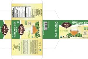 ORGANIC MORINGA TEA GREEN TEA BAGS