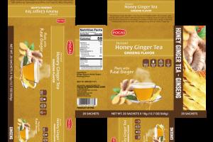 GINSENG FLAVOR INSTANT HONEY GINGER TEA