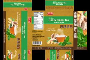 MINT FLAVOR INSTANT HONEY GINGER TEA