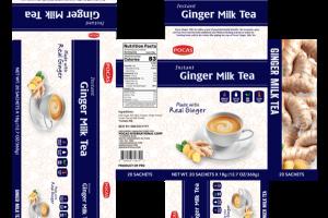 INSTANT GINGER MILK TEA