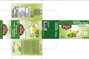 DECAFFEINATED PREMIUM GREEN TEA BAGS