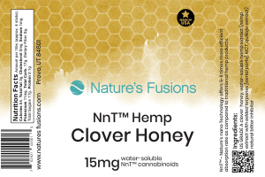 HEMP CLOVER HONEY WATER-SOLUBLE CANNABINOIDS 15 MG