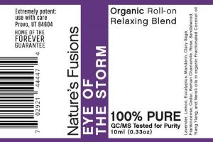ORGANIC ROLL-ON RELAXING BLEND