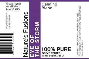 EYE OF THE STORM CALMING BLEND 100% PURE ESSENTIAL OIL