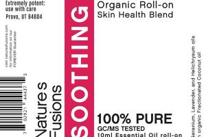 ORGANIC SKIN HEALTH BLEND ESSENTIAL OIL ROLL-ON, SOOTHING