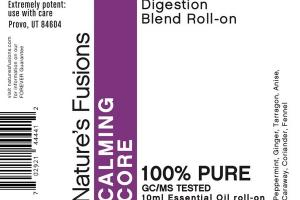 DIGESTION BLEND ESSENTIAL OIL ROLL-ON, CALMING CORE