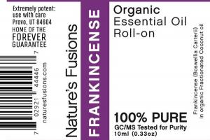 ORGANIC ESSENTIAL OIL ROLL-ON, FRANKINCENSE