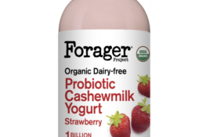 STRAWBERRY ORGANIC DAIRY-FREE PROBIOTIC CASHEWMILK YOGURT