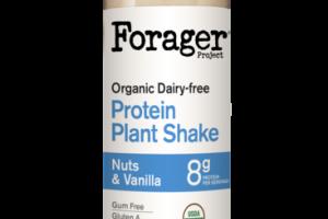 NUTS & VANILLA ORGANIC DAIRY-FREE PROTEIN PLANT SHAKE