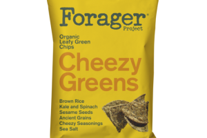 CHEEZY GREENS ORGANIC LEAFY GREEN CHIPS