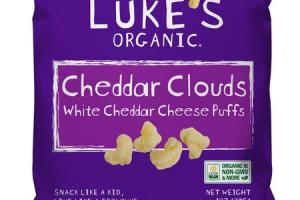 WHITE CHEDDAR CLOUDS CHEESE PUFFS