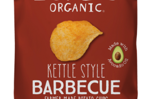 BARBECUE KETTLE STYLE POTATO CHIPS