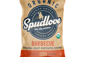 BARBECUE ORGANIC THICK-CUT POTATO CHIPS